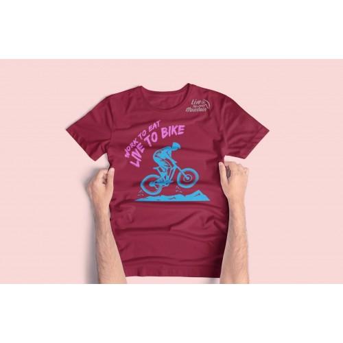 Live Bike - Playera Dama