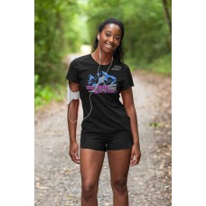 Run Wild Live Free - Playera Dama