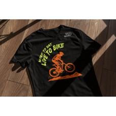 Live Bike - Playera Caballero