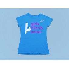 Girls Climb Better - Camiseta Dama