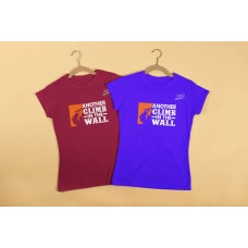 Another Climb In The Wall - Playera Dama