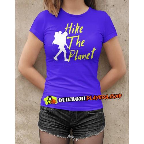 Hike The World - Playera Dama